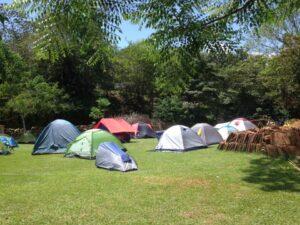 Zonas de camping para colegios