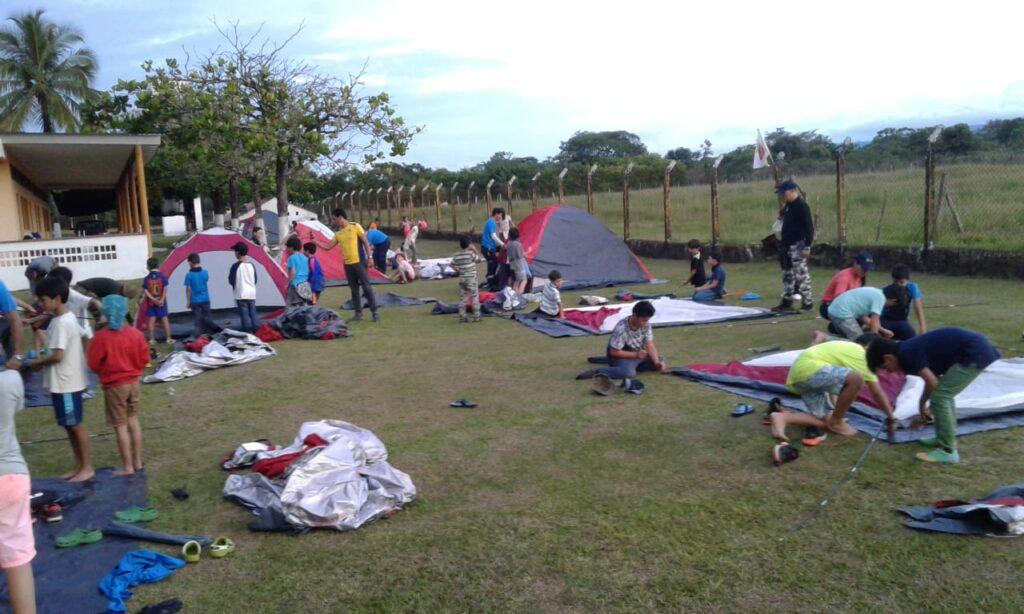 Opciones de salidas de Campamentos colegios