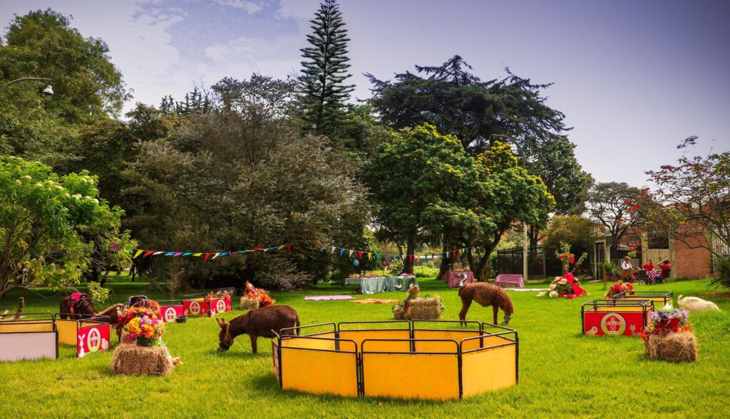 Granjas educativas cerca a Bogotá