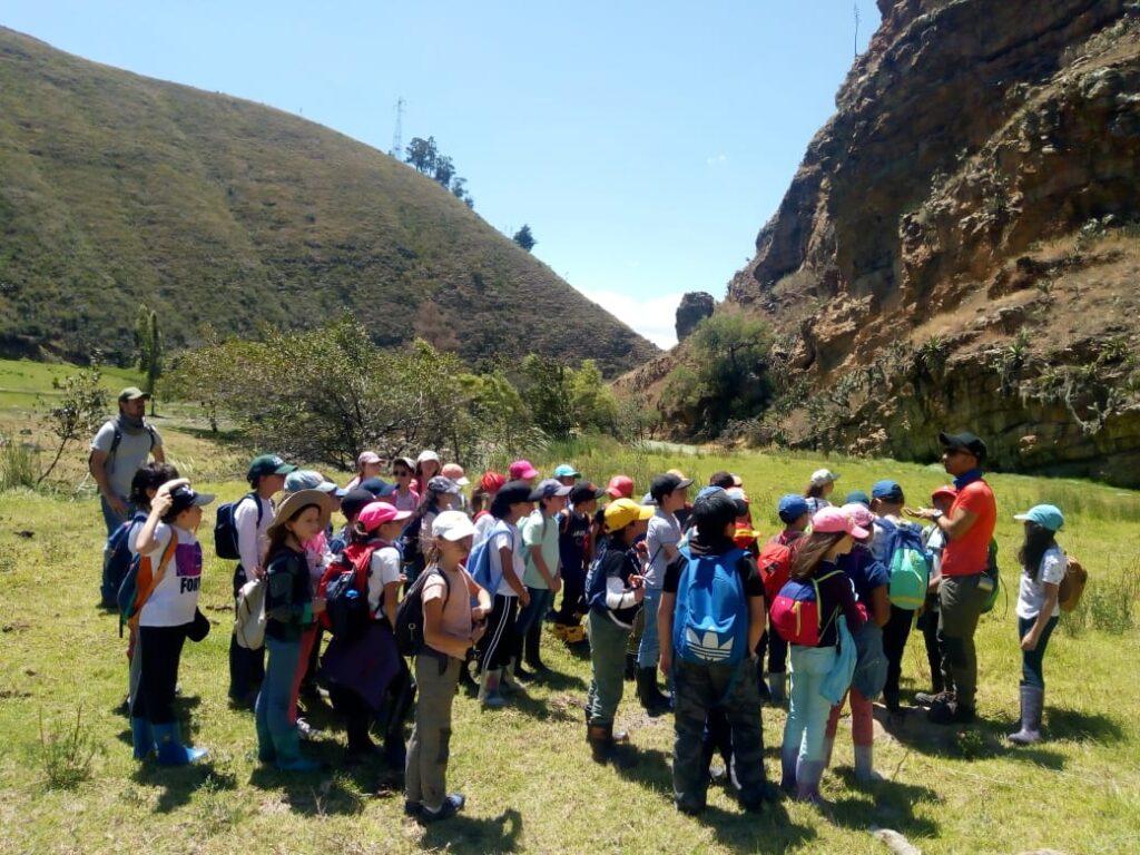 Caminatas ecológicas educativas