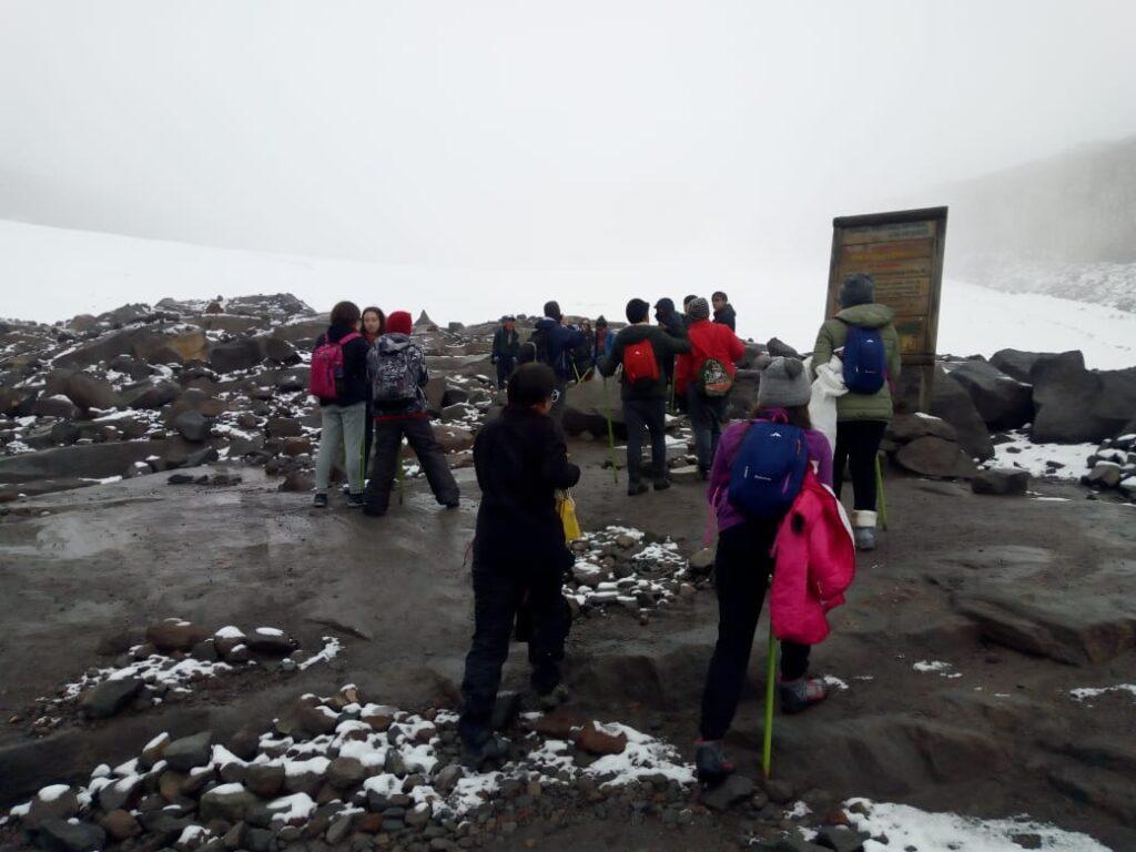Ascenso al Nevado de Santa Isabel