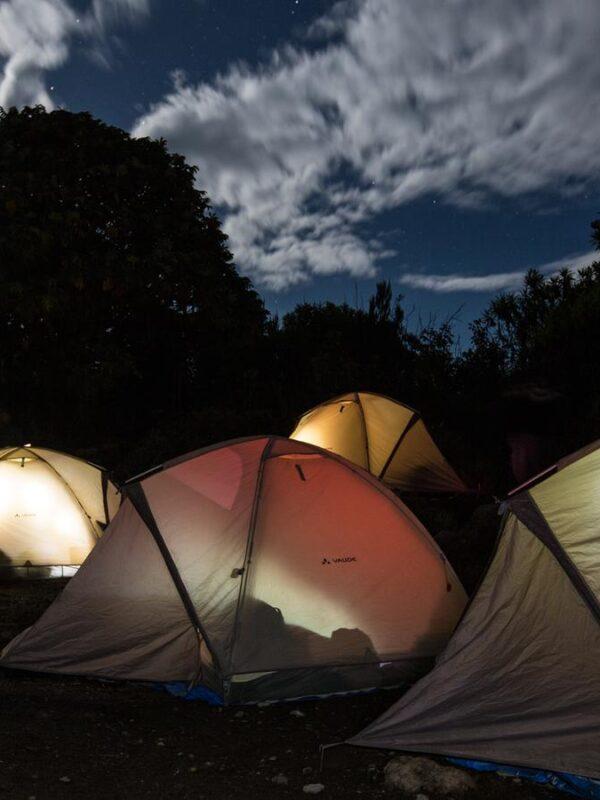 Camping nocturno