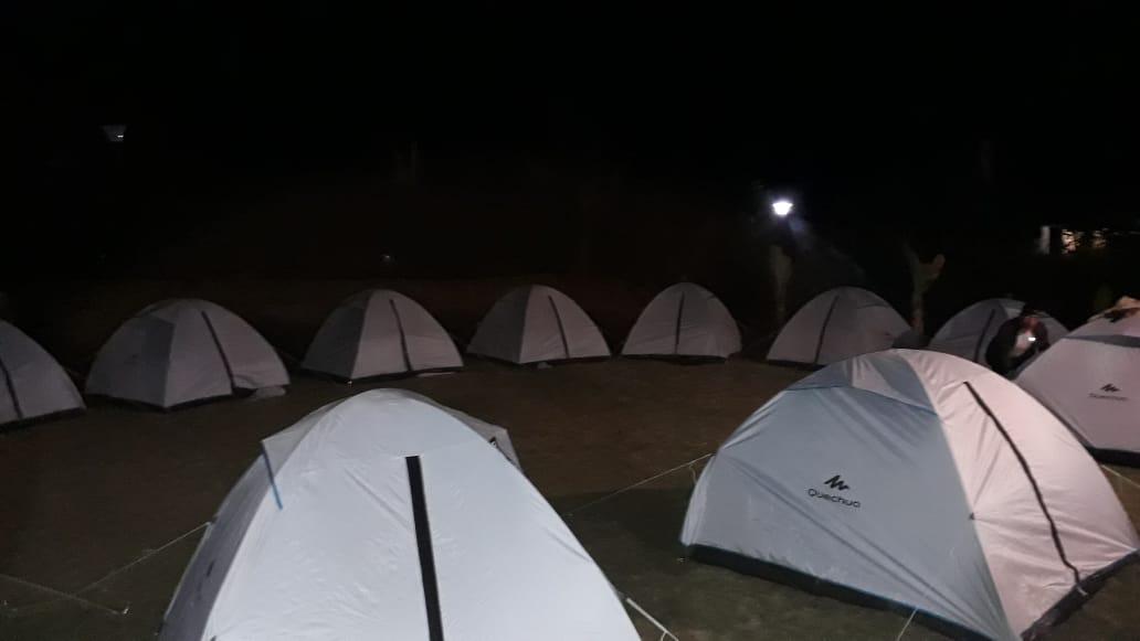 Camping Laguna de Tota - Campamentos