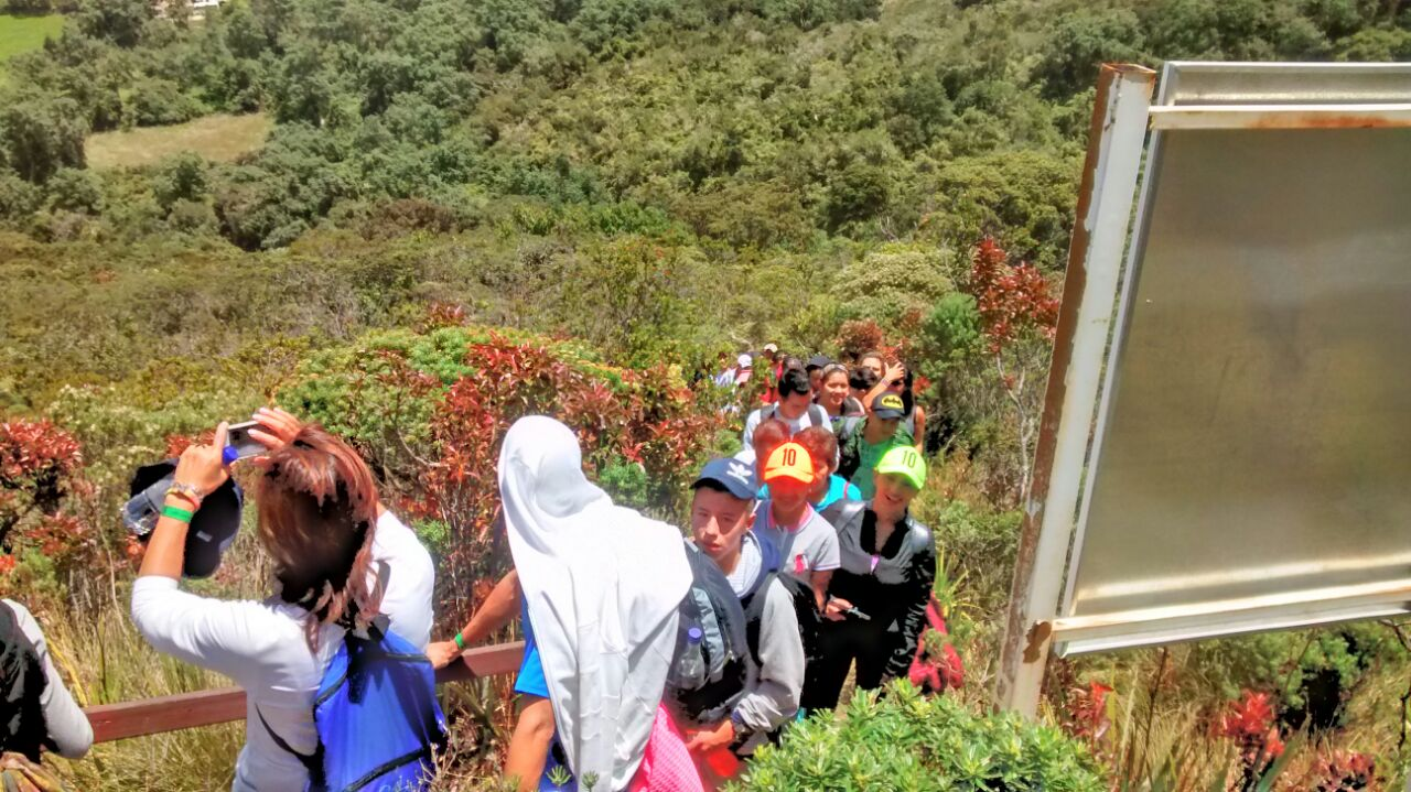 Recorrido ecológico Guatavita - Caminatas ecológicas