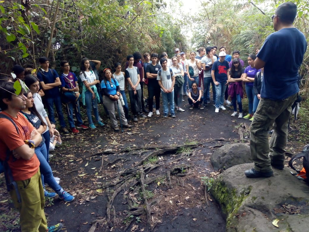 Taller de arte rupestre Quiníní