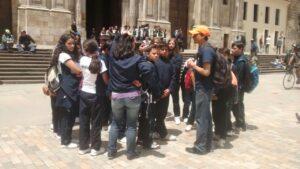 Salidas pedagógicas y Recorridos urbanos Bogotá